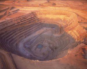 Jwaneng open-pit mine,  Botswana